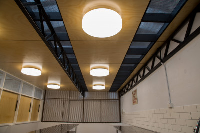 FREMANTLE PRISON CANTEEN lighting project