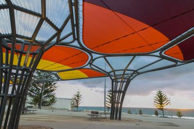 Scarborough Beach Foreshore Redevelopment lighting project
