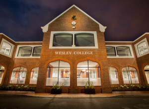WESLEY COLLEGE LIGHTING