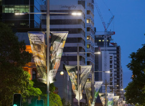 City of Perth Hires Lighting Options for Banner Lights
