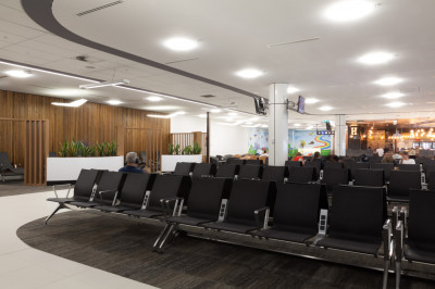 perth-airport-int'l-gate lighting project