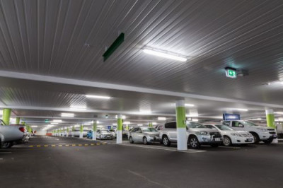 Westfield Carousel Shopping Centre Carpark lighting project