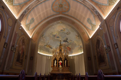 New Norcia lighting project