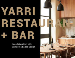 Artefact Industries Yarri Restaurant Project