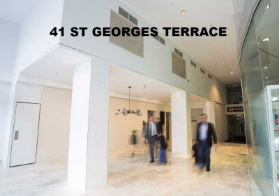 41 St. Georges Terrace lighting project